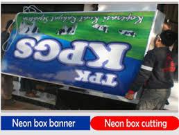 Tahapan Pembuatan Neon Box