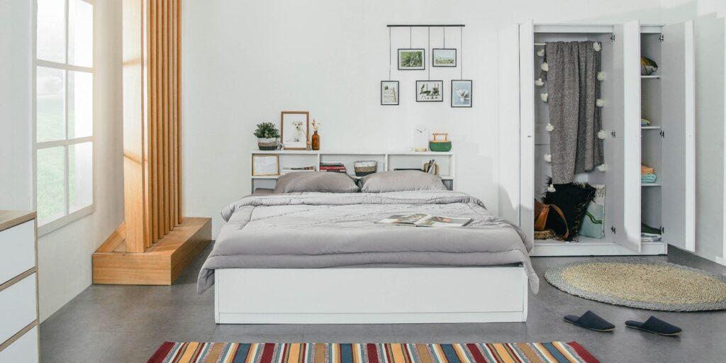 lemari pakaian desain minimalis